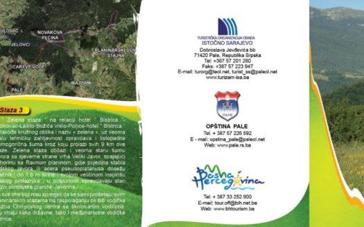 Brošura bogatstvo prirode raj za planinare