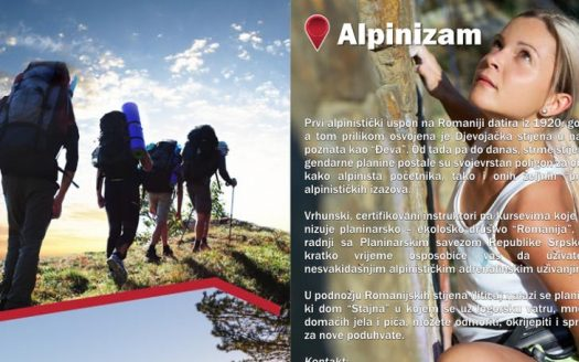 Brošura avantura u Istočnom Sarajevu