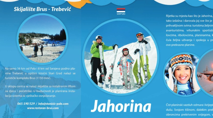 Brošura olimpijske planine Jahorine