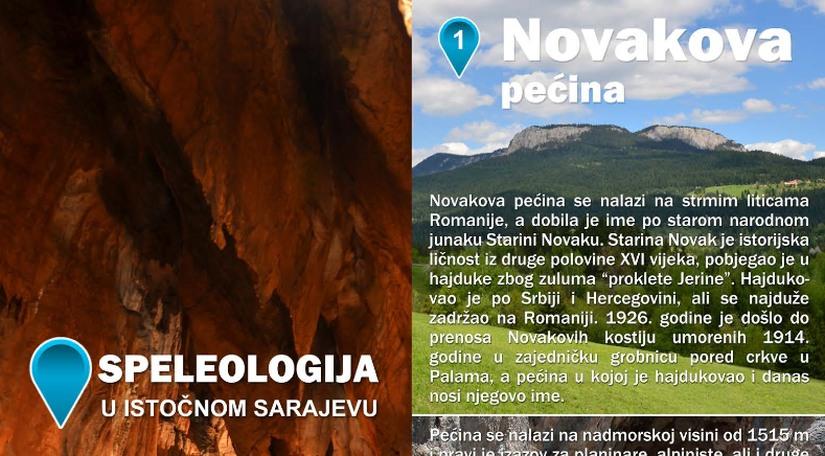 Brošura speleologije u Istočnom Sarajevu